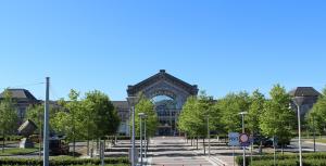 Железнодорожный вокзал в Шарлеруа